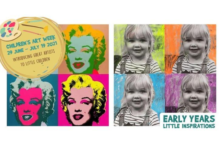 Art week in Early Years